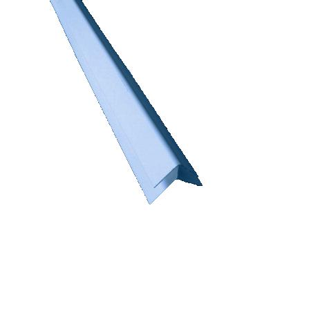 наружный угол голубой
