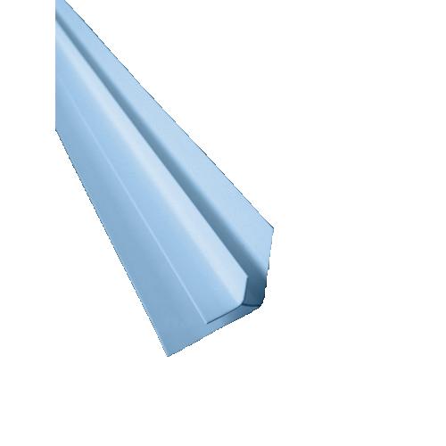 внутренний угол голубой
