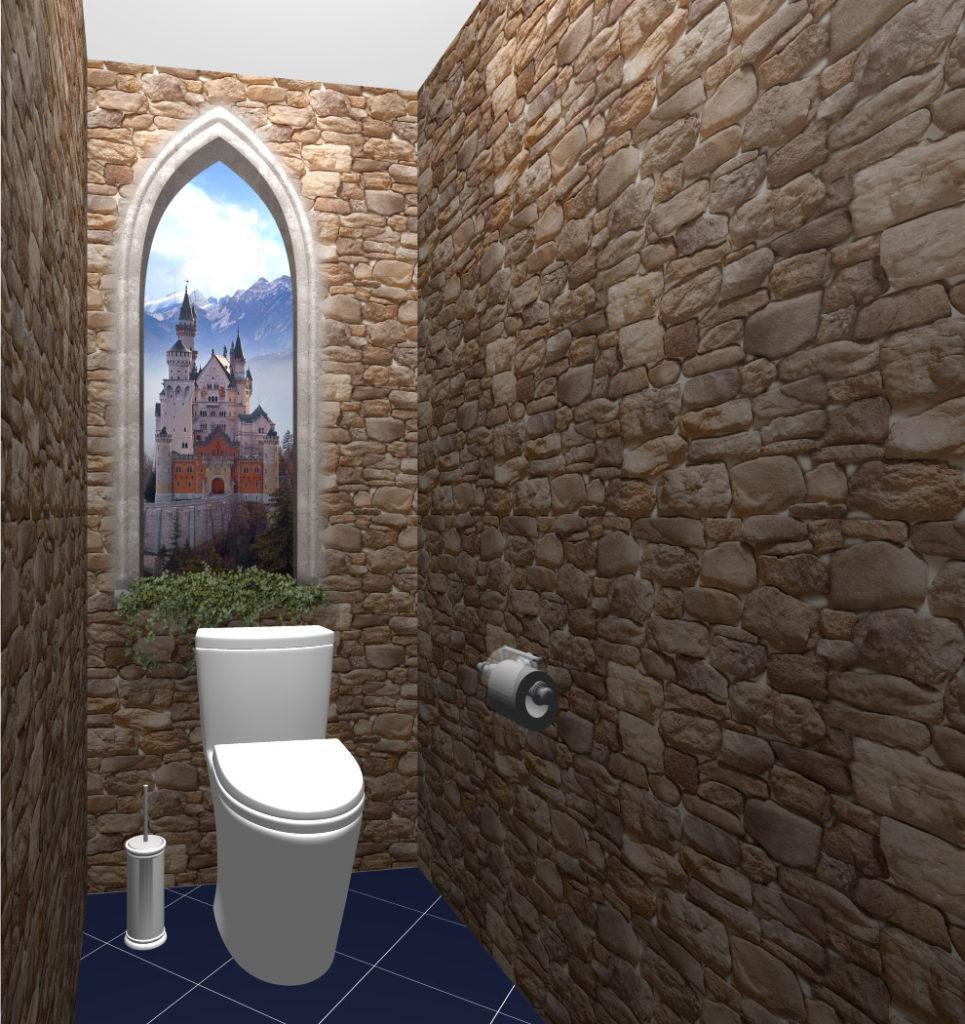 готика туалет