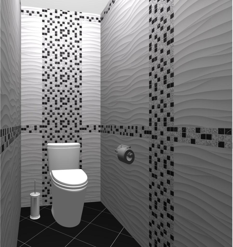 мозаика туалет