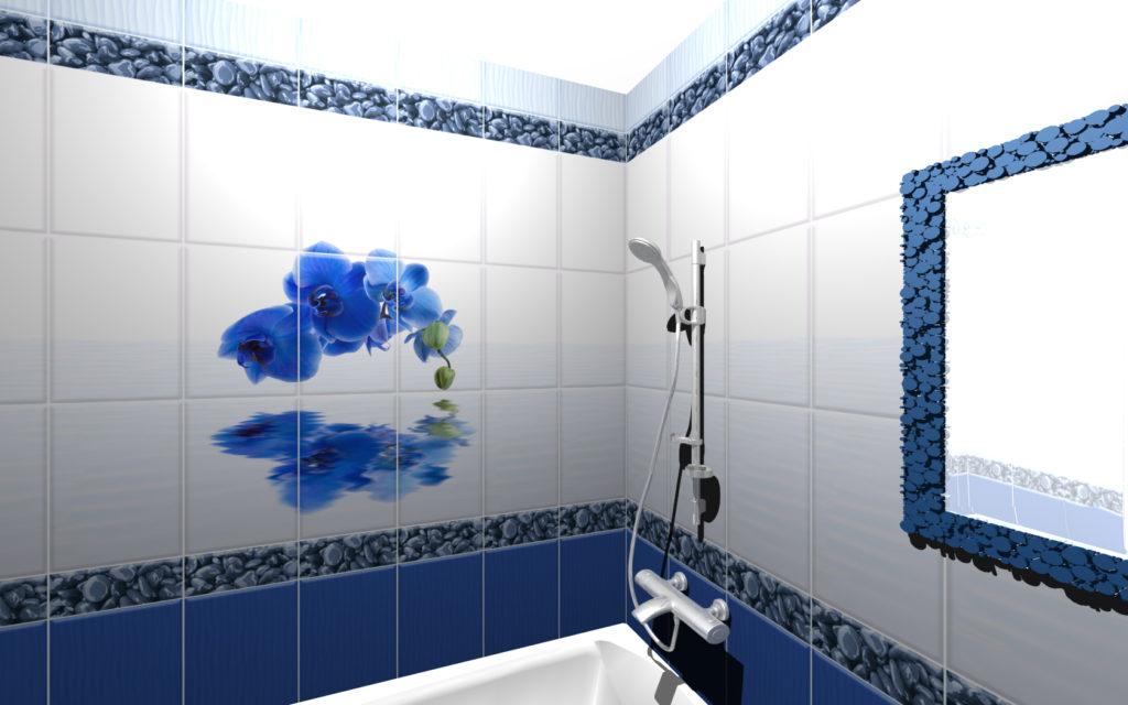 ванна Королевский синий
