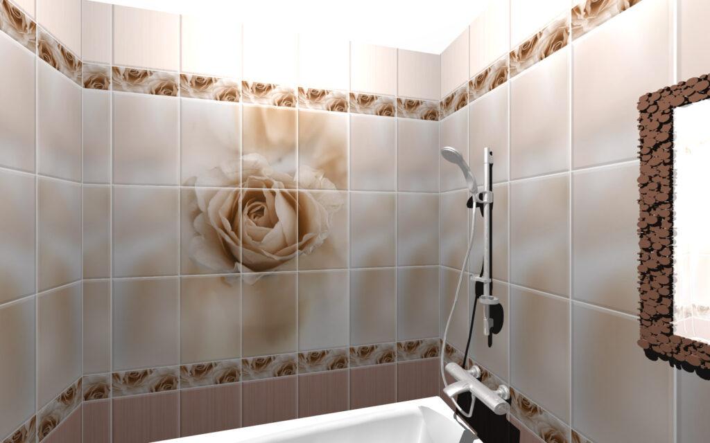 ванна чайная роза