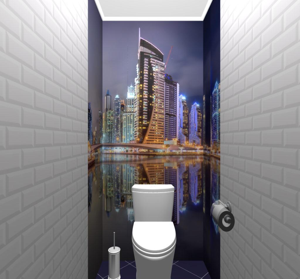 город кирпичики туалет