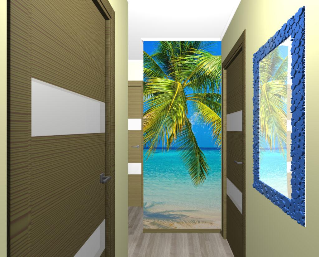 прихожая пальма