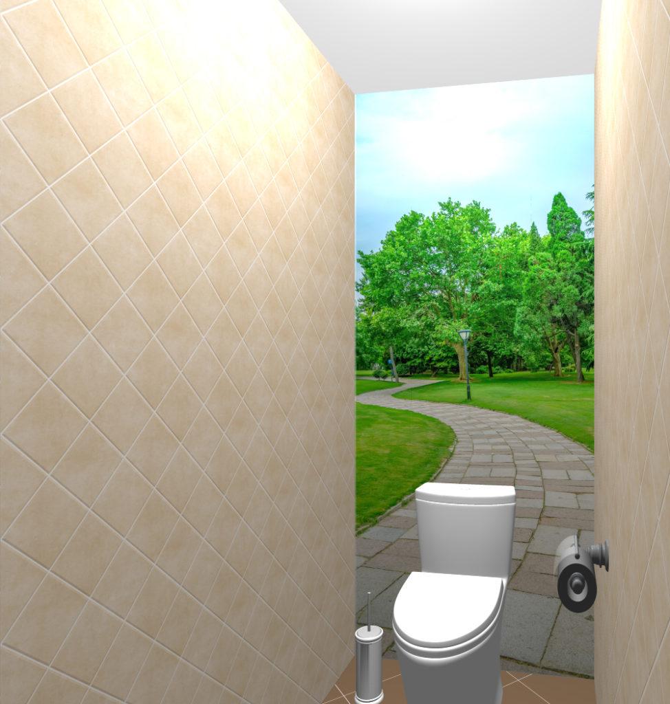 диагональ беж туалет