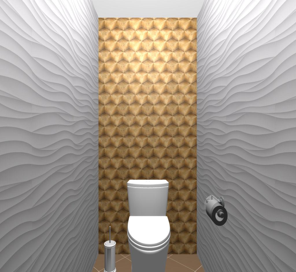 кубики туалет