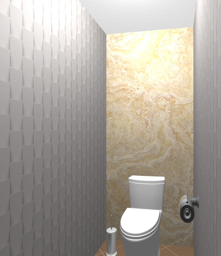 мрамор туалет