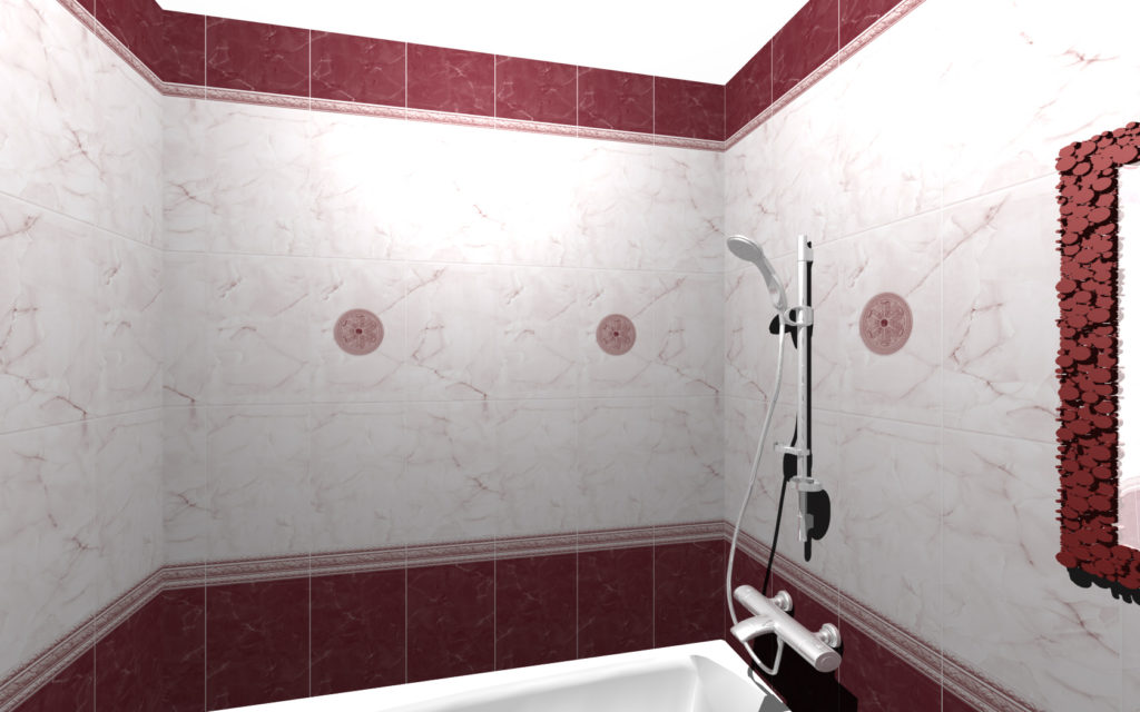 ванна бордо