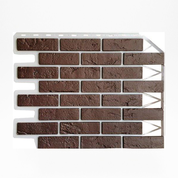 Brick dark-brown